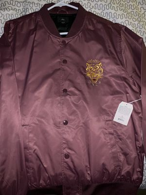 "Obey ""Savage Satin"" Jacket Large - Brand New for S"