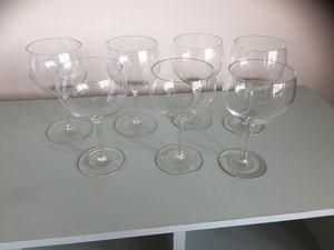 7 XL wine glasses for Sale in Alexandria, VA