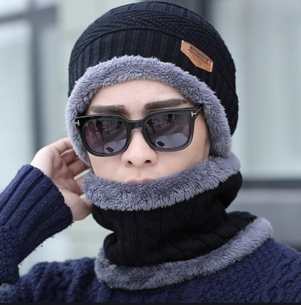 Beanie and scarf