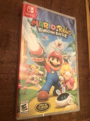 Nintendo Switch Mario Rabbids Kingdom Battle for Sale in Riverside, CA
