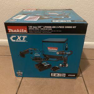 Makita 12v Max 2 Piece Combo for Sale in Phoenix, AZ