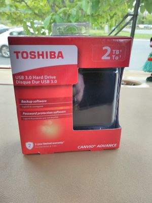 NEW Toshiba 2tb USB 3.0 HDD Hard Drive External for Sale in Portland, OR