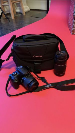 Canon EOS Rebel T6 for Sale in Zebulon, NC