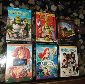 Disney collectibl DVDs for Sale in St. Pete Beach, FL