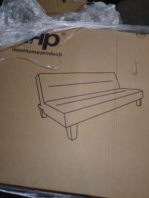 Charcoal grey futon dhp for Sale in Detroit, MI