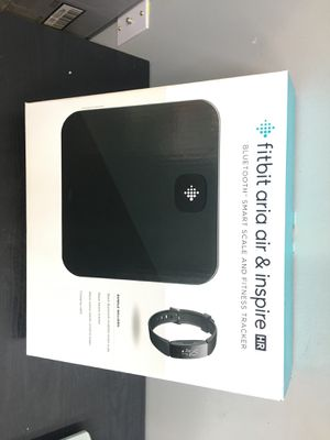 Fitbit aria air and inspire smart scale for Sale in Houston, TX