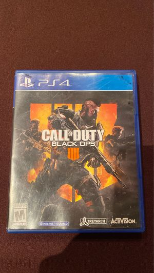 Call of Duty: Black ops 4 for PS4 for Sale in Addison, IL