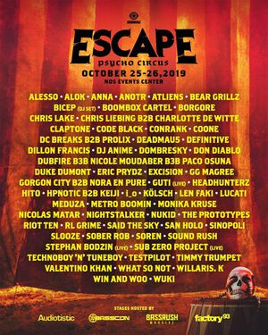 2019 Escape 2-Day GA Pass for Sale in Los Angeles, CA