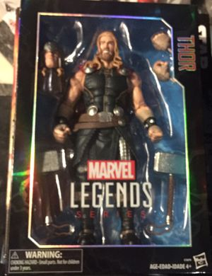 Thor 12 inch action figure marvel legends collectible figure for Sale in Queens, NY