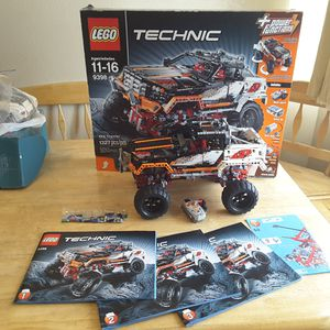 Lego 9398 RC crawler 4X4 remote controlled technic set complete for Sale in Lakewood, CO