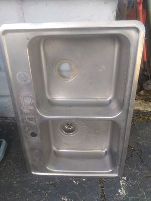Sink stainless steel kitchen household for Sale in Brooklyn, OH