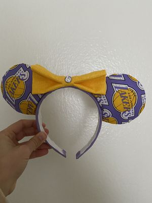 Lakers Mickey ears for Sale in Costa Mesa, CA