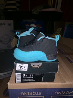 Jordan 12 Retro GT (like new worn once) Size 8C for Sale in Tampa, FL