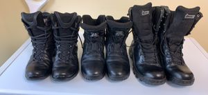 All three (3) for one price; Haix, Bauer, and Rocky boots size 9 for Sale in Laurel, MD