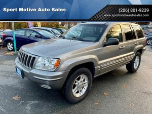 1999 Jeep Grand Cherokee for Sale in Seattle, WA