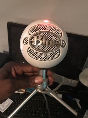 Blue USB microphone for Sale in Lithonia, GA
