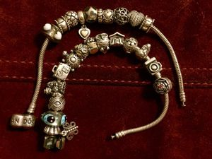 Pandora charms and bracelet for Sale in Denver, CO