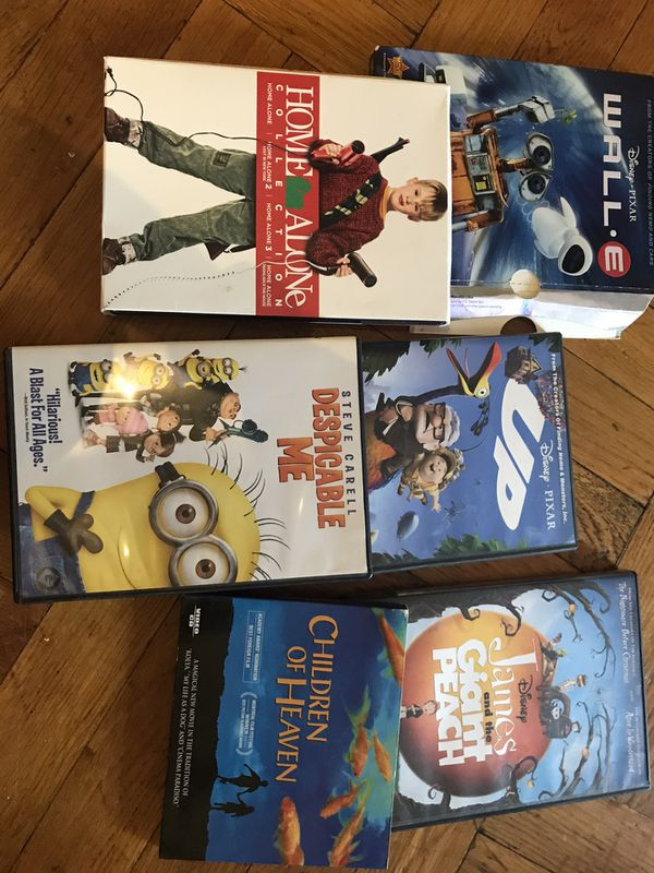 Lot of 9 dvds