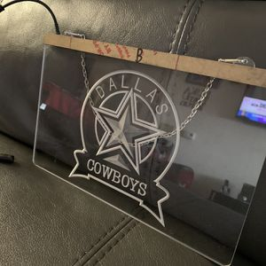 Dallas Cowboys Neon Hanging Light for Sale in Daytona Beach, FL
