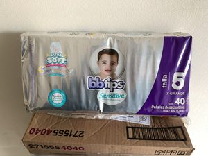 Diapers / Pañales Size 5 for Sale in Riverside, CA