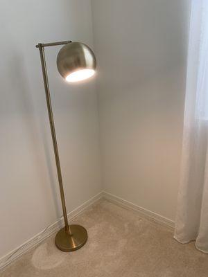 Gold floor lamp for Sale in Mesa, AZ