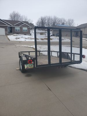 6 x 10 Utv trailer for sale for Sale in Palo, IA