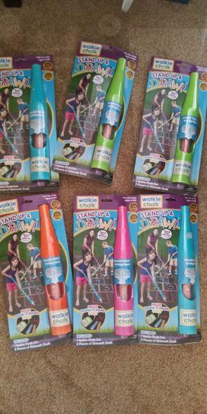 Walkie chalk bundle $20 for Sale in Goodyear, AZ