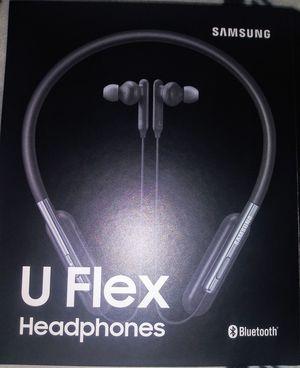 SAMSUNG U FLEX HEADPHONES, BLACK for Sale in Colorado Springs, CO
