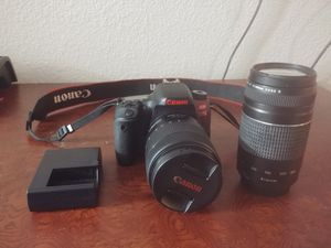 Canon 77D package (see below) for Sale in Dallas, TX