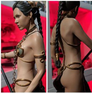 Sideshow Collectibles Star Wars Slave Leia Premium Format Statue for Sale in Pico Rivera, CA
