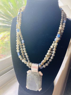 Beautiful Stone Necklace and Earrings for Sale in Brandon, FL