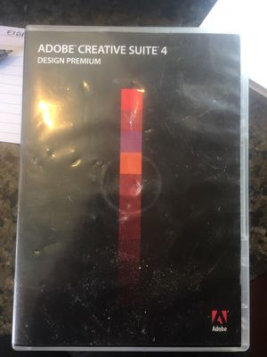 Adobe CS4 Design Premium Mac 4 Discs for Sale in Portland, OR