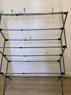 Mainstays Expandable Steel Laundry Drying Rack for Sale in Fremont,  CA