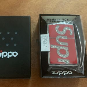 Supreme Swavorski Crystal Zippo NEW for Sale in Los Angeles, CA