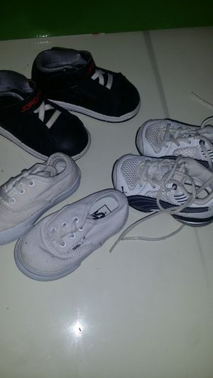 Shoe sizes Puma 4 vans 5 Jordans 6 for Sale in Lincoln Acres, CA