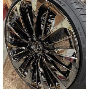 """20""""Lexus Rims And Tires for Sale in Lincoln, RI"""