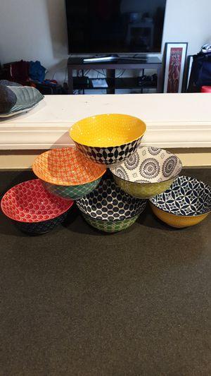 6 ceramic bowls for Sale in Washington, DC