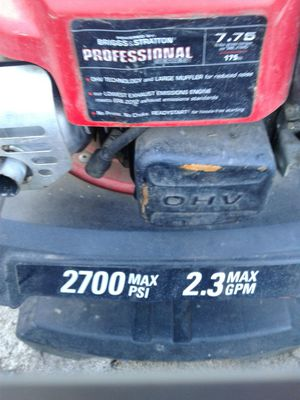 Troy Built 2700psi pressure washer for Sale in Portland, OR