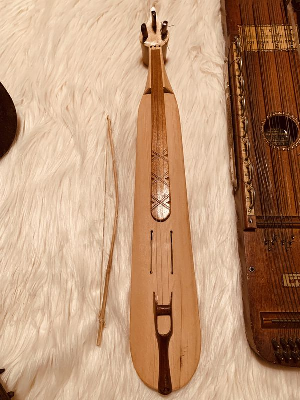 Handmade musical instruments from around the world