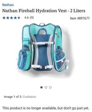Hydration Pack for Running-Nathan/REI Camelback for Sale in Chicago, IL