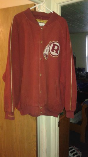 Mitchell&ness old school redskins wool NFL jacket for Sale in Grosse Pointe Park, MI