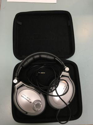 Senheiser headphones PXC450 pro audio sound music player BCP007128 for Sale in Huntington Beach, CA