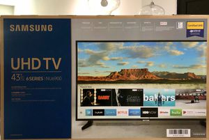 Brand New Samsung 43 inch 4K smart TV $220 for Sale in Dallas, TX