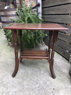 Antique wood table for Sale in Chicago, IL