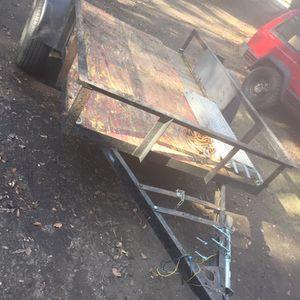 5x8 Utility trailer Heavy Duty for Sale in Stockton, CA