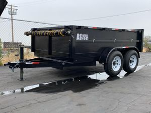 Dump Trailer 8x10x2 for Sale in Vernon, CA