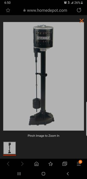Water pump pedestal for Sale in Torrance, CA