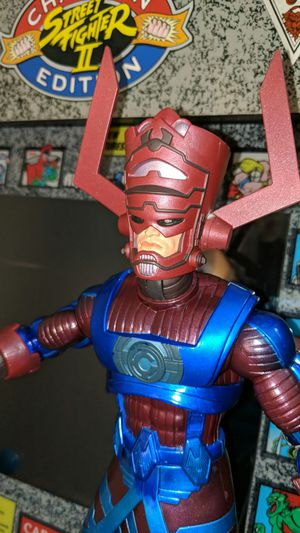 Marvel legends toy biz build a figure Galactus complete new for Sale in Houston, TX