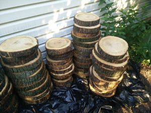 Rustic wood slabs tree slices for Sale in Chicago, IL