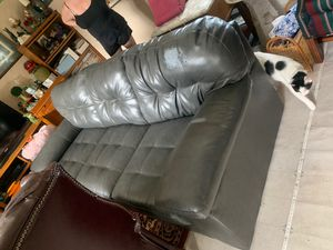 Grey couch for Sale in Erie, PA